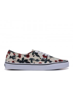 """Vans Authentic """"ROSES"""" sand do, roses"""