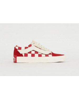 """Purlicue x Vans Vault Old Skool """"Year Of The Pig"""" Racing Red/Marshmallow"""