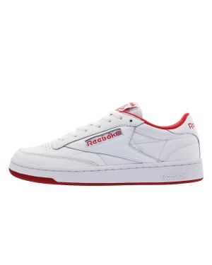 """Reebok Club C 85 """"Death Of Cute"""" White/Excellent Red"""