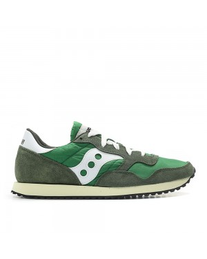 Saucony DXN Trainer Vintage green/white