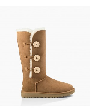 Womens Bailey Button Triplet II Boot Chestnut 1016227-CHE