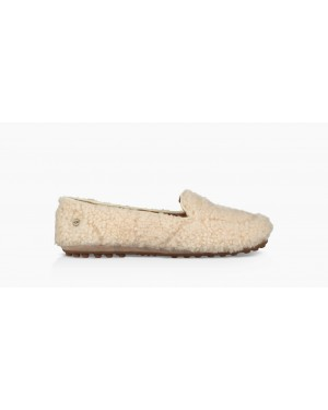 Womens Hailey Fluff Loafer Natural 1095108-NAT
