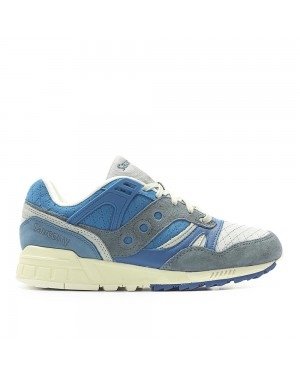 """Saucony Grid SD """"Quilted Pack"""" blue/grey"""